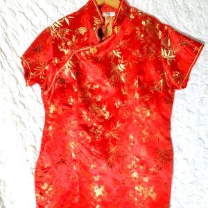 Chinese dress size 14.